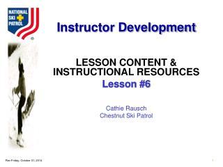 Instructor Development