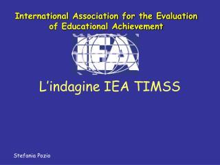 L'indagine IEA TIMSS