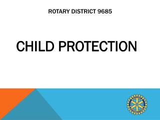 Rotary District 9685