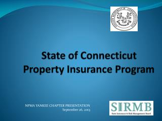 State of Connecticut Property Insurance Program