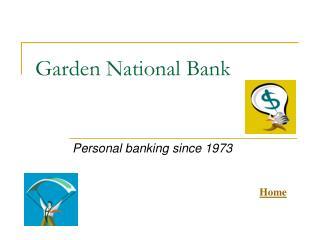 Garden National Bank