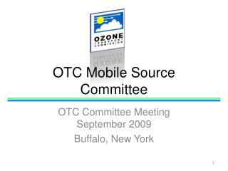 OTC Mobile Source Committee