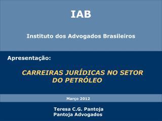 IAB Institu to dos Advogados Brasileiros