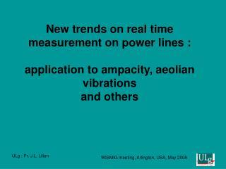 vibrations/ movements/ overloads