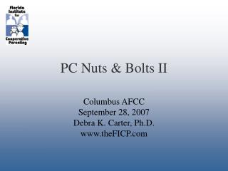 PC Nuts & Bolts II