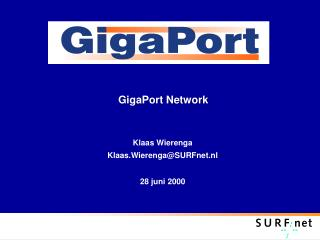 GigaPort Network