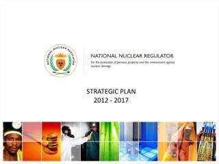 Strategic plan  2012 - 2017