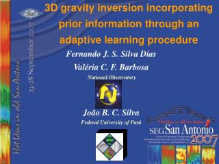3D gravity inversion incorporating prior information through an adaptive learning procedure