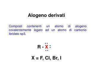 Alogeno derivati