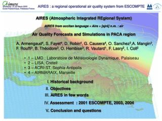 AIRES (Atmospheric Integrated REgional System)