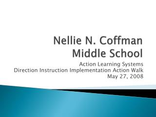Nellie N. Coffman Middle School