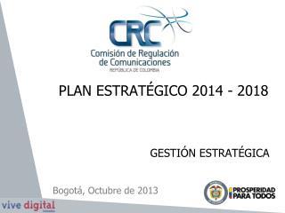 PLAN ESTRATÉGICO 2014 - 2018