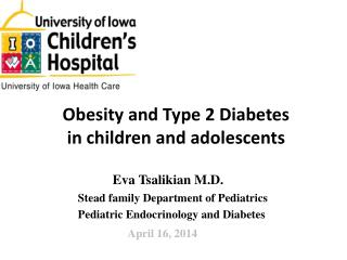 Obesity and Type 2 Diabetes in children and adolescents