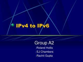 IPv4 to IPv6