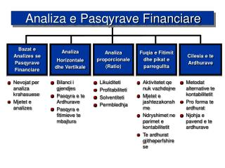 Analiza e Pasqyrave Financiare