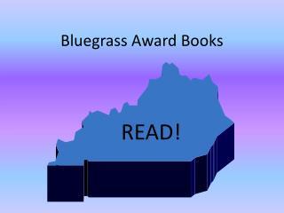 Bluegrass Award Books
