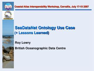 SeaDataNet Ontology Use Case