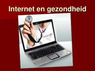 Internet en gezondheid