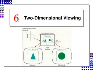 Two-Dimensional Viewing