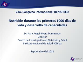 2do. Congreso Internacional RENAPRED