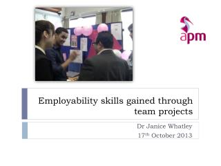 Employability skills gained through team  projects
