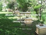 Miami County Beekeepers
