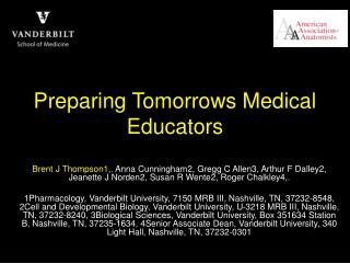 Preparing Tomorrows Medical Educators