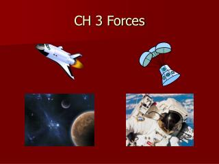 CH 3 Forces