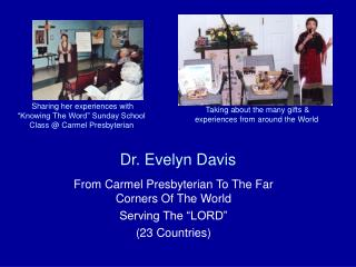 Dr. Evelyn Davis