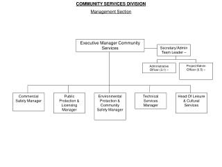 Executive Manager Community Services