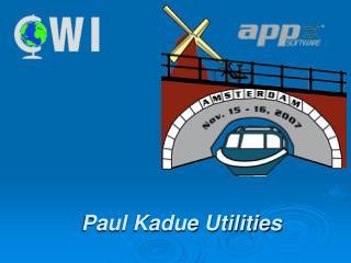 Paul Kadue Utilities