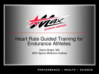 Heart Rate Guided Training for  Endurance Athletes
