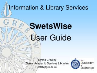Information & Library Services