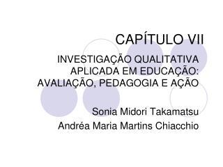 CAP�TULO VII