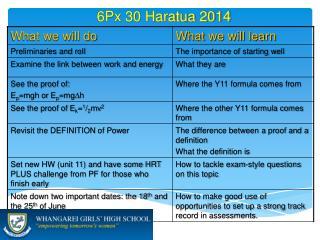 6 Px 30  Haratua  2014