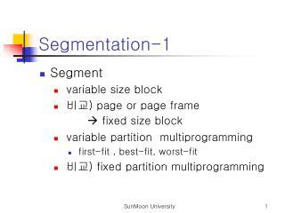 Segmentation-1