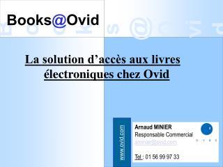 Books @ Ovid