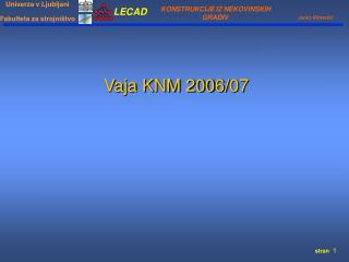 Vaja KNM 200 6 / 07
