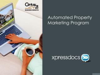 Automated Property  Marketing Program