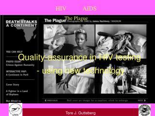 HIV           AIDS  The Plague