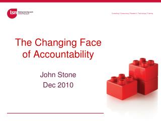 The Changing Face of Accountability