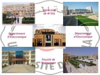 Université de M'Sila