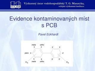 Evidence kontaminovaných míst s PCB