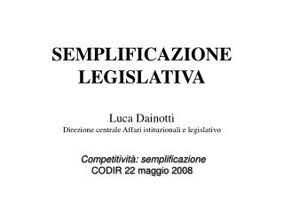 Andamento dell'attività legislativa per legislatura