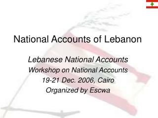 National Accounts of Lebanon