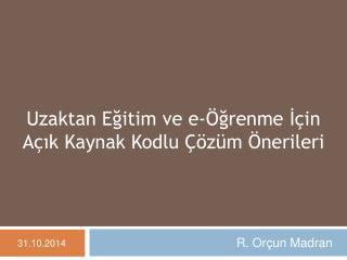 R. Or�un Madran