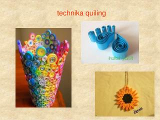 technika quiling