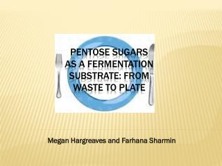 Pentose sugars as a fermentation substrate: from waste to plate