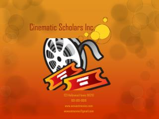 Cinematic Scholars Inc.