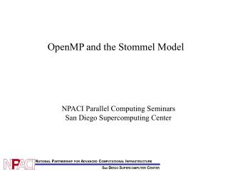 OpenMP and the Stommel Model